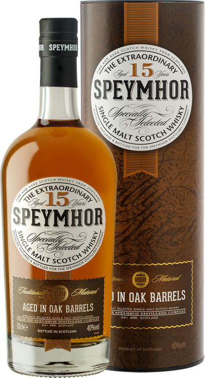 Speymhor Single Malt 15 у. o. в тубе