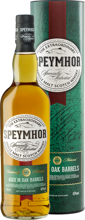 Speymhor Single Malt в тубе